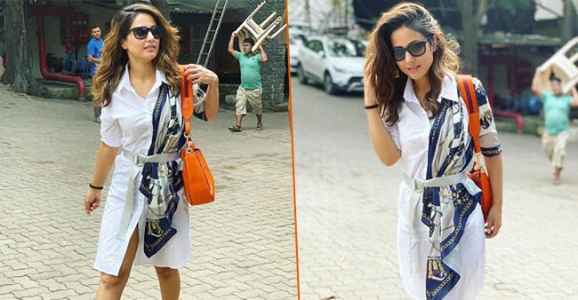 Hina Khan gives her fans a masterclass in casual dressing in her latest IG pics, check it out