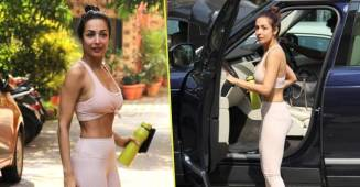 Malaika Arora flaunts her drool-worthy physique as she gets papped outside her gym, see pics