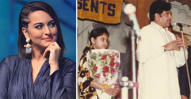 Sonakshi Sinha looks unrecognizable in major throwback childhood picture, check it out