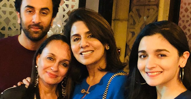 Pictures of Alia Bhatt with Ranbir Kapoor's mom Neetu are proof that she'll make a perfect 'Bahu'