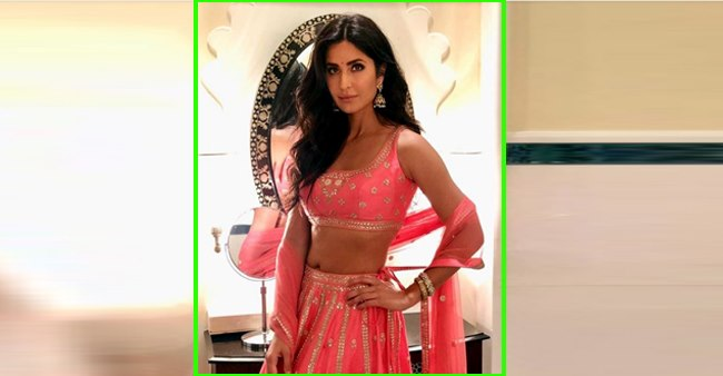 Katrina Kaif paints the Internet pink as she dons gorgeous rosy-hued ethnic; See Pic