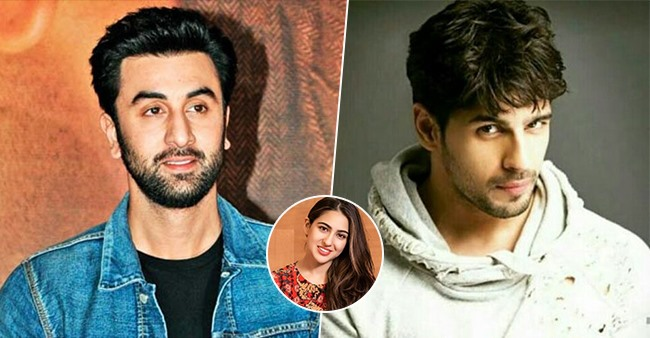 From Ranbir Kapoor to Sidharth Malhotra, actors that would make a decent pair with Sara Ali Khan