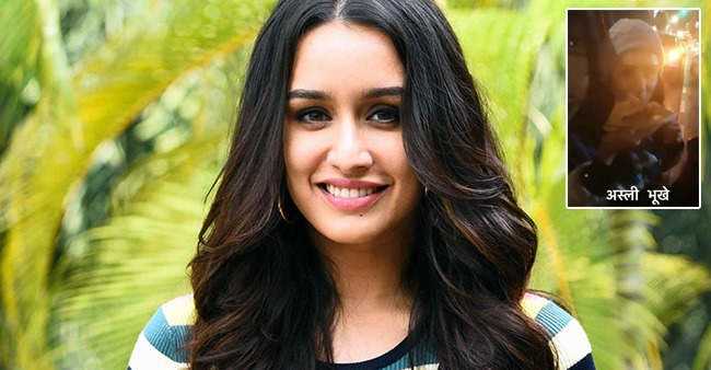 Shraddha Kapoor enjoys a cheat day, munches on pizza in Serbia while working for Baaghi 3