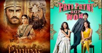 Pati Patni Aur Woh VS Panipat: Kartik Aaryan outperforms Arjun Kapoor; Attracts more audience
