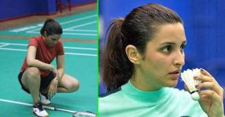 Parineeti Chopra is back on the sets of Saina's biopic after neck cramp; Shares BTS Pics