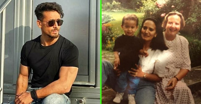 Tiger Shroff loves camera since childhood; His mother's post with an emotional note says it all