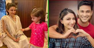 Soha Ali Khan's family pics with little cutie Inaaya is a sweet treat to eyes; See Pics