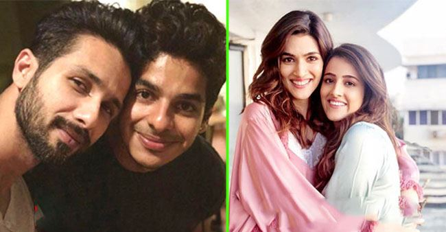 B-Town stars' siblings including Nupur and Ishaan that are as talented as them