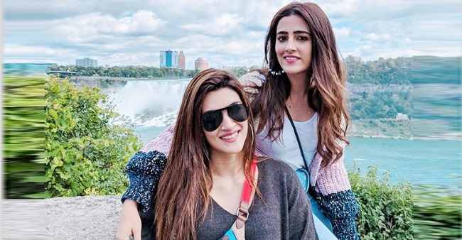 Kriti advises Nupur on doing movies; Says 'Never sign a film if you don't believe in it'