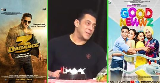 Video: Salman talks about collection of Dabangg 3 and Good Newwz; Praises fans for supporting