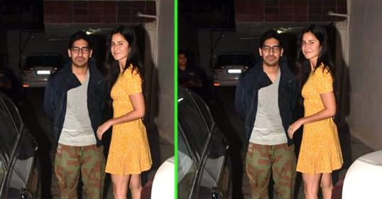 Katrina Kaif blooms like a sunflower as she steps out with Ayan Mukerji; Pics