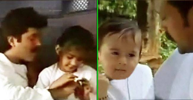 Childhood pics of Tiger Shroff, Sonam and Ranbir from the 90s will make you go 'Aww'; See