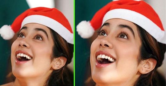 Janhvi Kapoor shares her 'Candid Christmas' pic; Captions 'more than one reason to be happy'