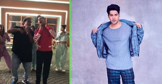 Varun Dhawan shares 'Muqabla Challenge' with fans from Street Dancer 3D sets; Watch
