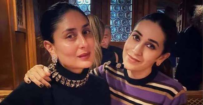 Gorgeous sisters Kareena and Karisma gives major sibling goals as they pose together; Pic
