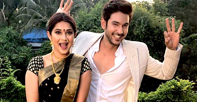 Beyhadh 2 Shivin's BTS Picture Showing Jennifer In Customary Maharashtrian Look Lifts Up Curiosity For Upcoming Episode