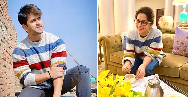 Dipika Borrows Her Hubby Shoaib's Sweater And Flaunts It In Style