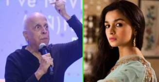 Mahesh Bhatt looses temper at Shaheen Bhatt's book launch event; Alia tries to pacify him