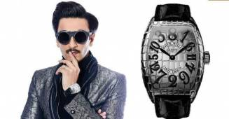 Ranveer Singh wears 'Iron' watch worth ₹13,82,400 by Franck Muller raising his style quotient to a new level