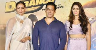 Sonakshi Sinha gives a befitting reply on Salman Khan romancing a 21-year-old in Dabangg 3