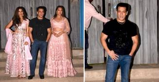 Dabangg 3 Promotion: Salman Khan Greets Sonakshi, Prabhu Deva And Saiee On The Sets Of Bigg Boss 13