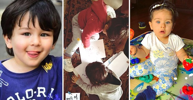 Taimur Ali Khan & Inaaya Kemmu Are Fully Engrossed In Their Drawing And Fans Totally Love It