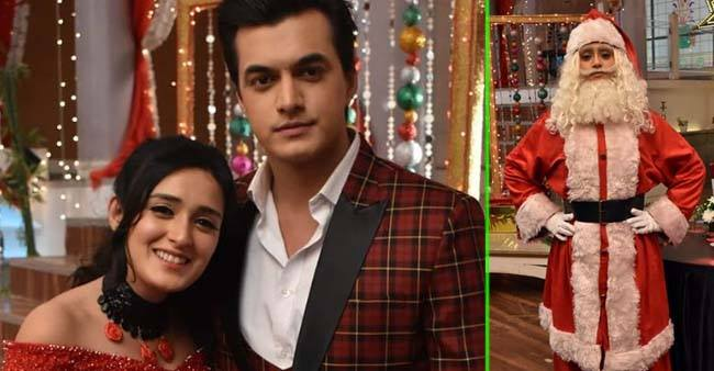 YRKKH stars are all smiles as they finally celebrate Christmas on sets; See pics