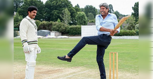 Ranveer wishes Kapil Dev on his birthday with a special BTS practicing pic; Check out