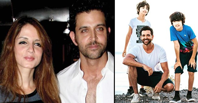 Sussanne Khan's 'incredible man' B'Day wish for Hrithik is heart-touching; Pic