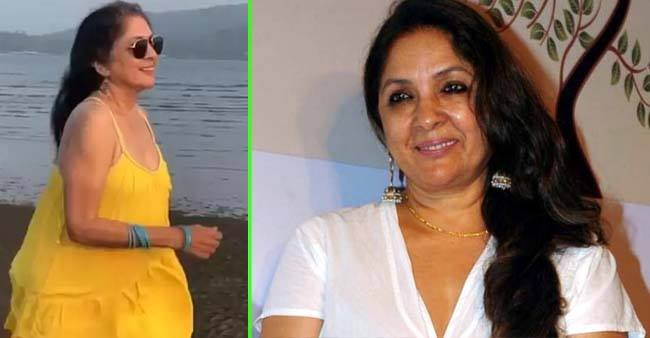 Slow-motion video of Neena Gupta in yellow top is full of excitement and love: Watch
