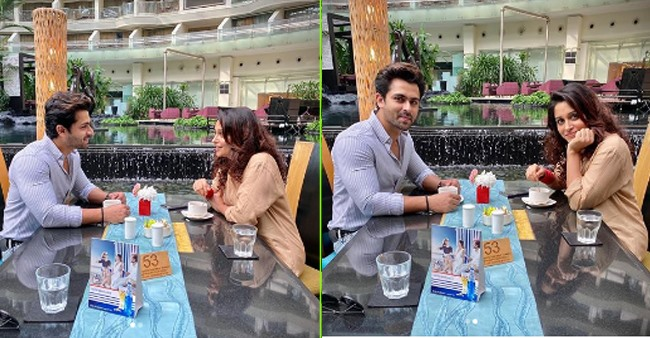 Dipika Kakar spends quality time as she goes out for a 'tea date' with hubby Shoaib; Pics