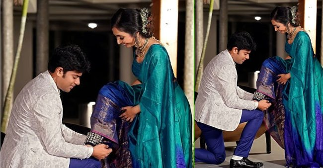 It's all love for classical dancer Utthara Unni as she shares her beautiful engagement pics; See
