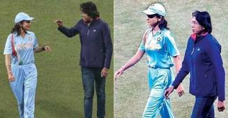 Anushka Sharma's pics in Indian cricket dress with Jhulan Goswami are going popular; Check Out