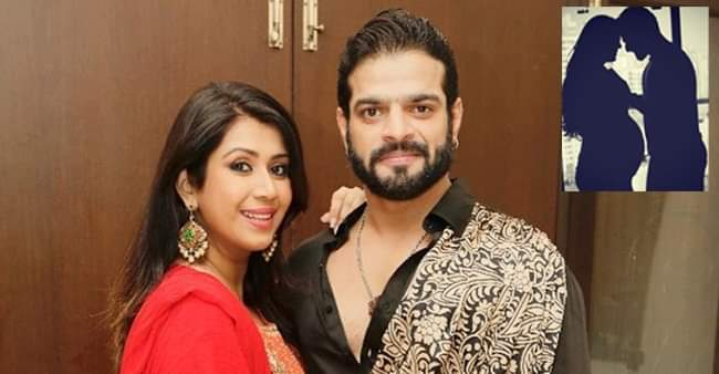 Karan Patel posts a monochrome throwback picture from wife Ankita Bhargava's pregnancy days