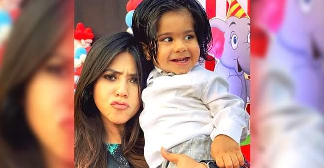 Smriti Irani posts an adorable message for Ekta Kapoor's son Ravie on his birthday
