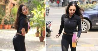 Malaika Arora sets mercury soaring in her all-black gym look