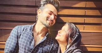 Dipika Kakkar Ibrahim looks beautiful as she poses with hubby Shoaib for an adorable picture