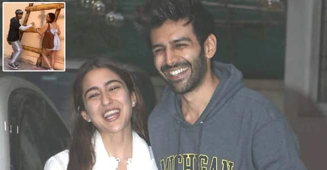 Love Aaj Kal: Sara Ali Khan aka Zoe shares BTS moments with Veer aka Kartik Aaryan