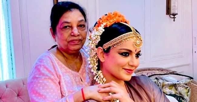 Thalaivi: Kangana Ranaut congratulates her hairstylist on completing 50 years in Bollywood, shares BTS picture