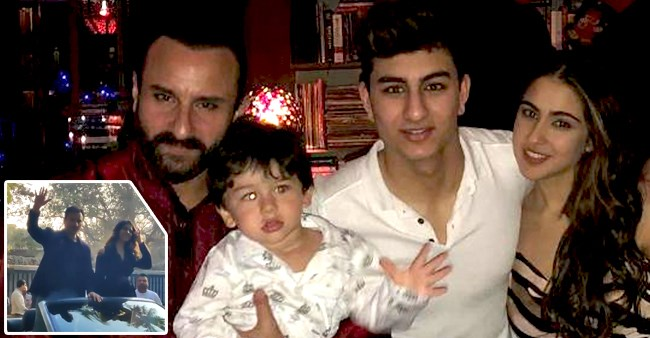Saif's Response Wins Hearts As Paps Asked Him Going To Same Pub With Taimur & Ibrahim