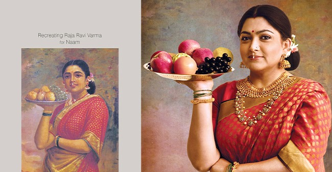 Actresses and dancers that beautifully recreated paintings by Raja Ravi Varma; Pics