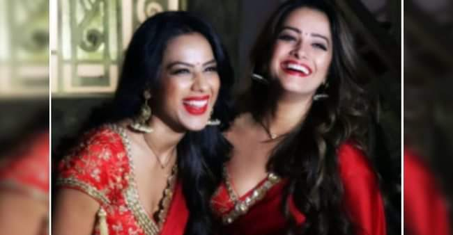 Naagin 4: Nia Sharma, Anita Hassanandani looks gorgeous as they twin in red saree