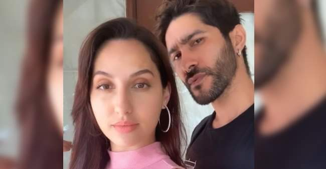 Nora Fatehi posted a mesmerising selfie with makeup artist Marce Pedrozo