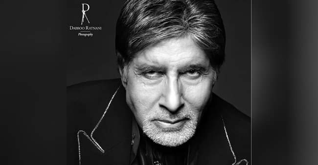 Amitabh Bachchan wins hearts with his monochrome picture in Dabboo Ratnani's 2020 calendar