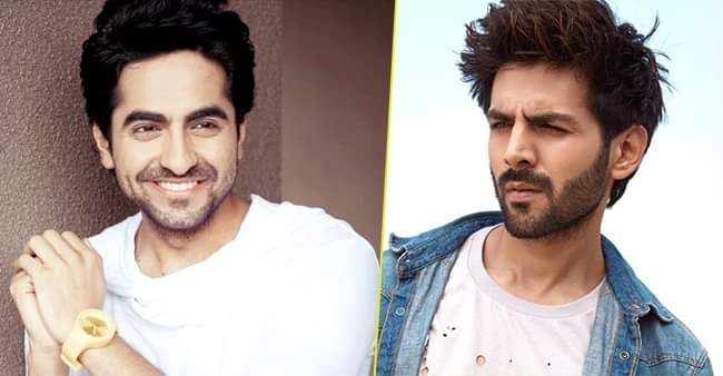 Kartik Aaryan gave a quirky reply on getting compared with Ayushmann Khurrana movies