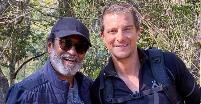 Man Vs Wild: Rajinikanth and Bear Grylls' special episode to premiere on 23rd March