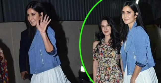 Katrina Kaif looks beautiful in white as she attends Vicky Kaushal's Bhoot special screening