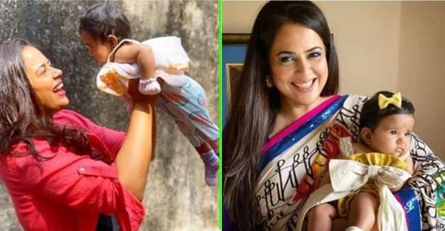 Sameera Reddy shares a trick every mommy needs to follow to feed their babies