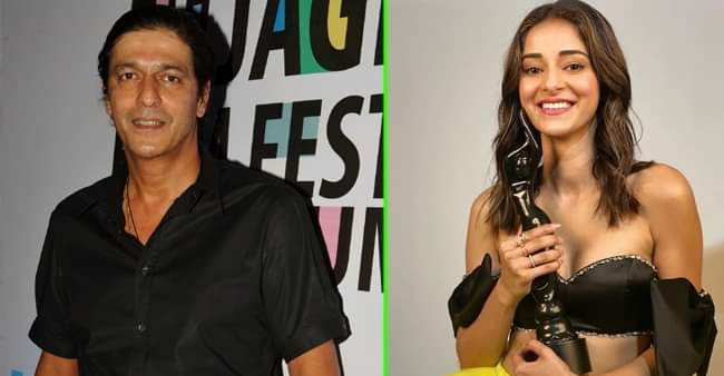 Chunky Panday is all praises for Ananya Panday as she wins her first Filmfare award