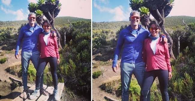 Ankita Konwar shares throwback picture with hubby Milind Soman from Mt Kilimanjaro